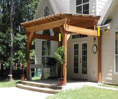 Attached Pergola Plans by Pergola Attached To House Designs The Shade House Ideas And