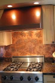copper backsplash maintenance copper sheet metal backsplash copper