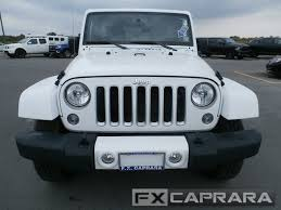 2016 used jeep wrangler unlimited 4wd 4dr sahara at f x caprara