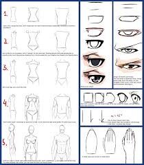 random tutorial male female bodies bleach eyes by unicornchen on