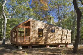 modern cabin design can modern cabins entice new audiences into state parks curbed