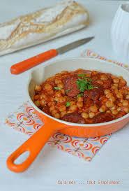 cuisiner des pois chiches pois chiches au chorizo cuisiner tout simplement le de