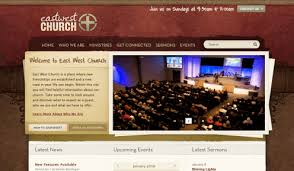 20 of the best church website designs church website ideas