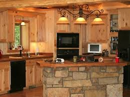 one wall kitchen layout with island rustic one wall kitchen with island marti style