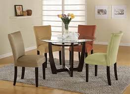 Glass Bistro Table Stylish Kitchens Dining Room Design With Bloomfield Kitchen