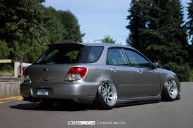 lowered subaru impreza wagon one low wagon ben kell u0027s 2006 wrx lower standardslower standards