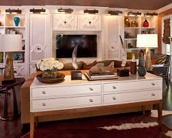 Decorating Sofa Table Behind Couch by Transitional Family Room With Classic Behind Couch Table With