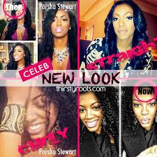 what is porsha stewart hair line or weaves porsha stewart natural real hair weave hairstyles hair lengths