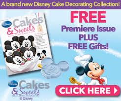 Cake Decorating Magazine Issues Disney Cakes U0026 Sweets Magazine Review Rose Bakes