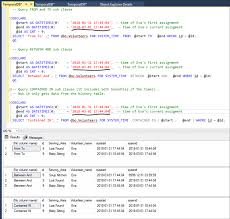 sql 2016 temporal table options to retrieve sql server temporal table and history data