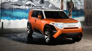 toyota auto car toyota ft 4x concept revealed at the 2017 new york auto show