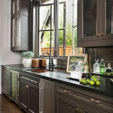 antiqued mirror kitchen cabinet doors design ideas