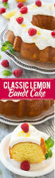classic lemon bundt cake dinner at the zoo