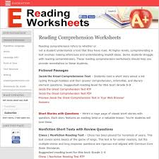 reading comprehension test for grade 5 reading comprehension worksheets pearltrees
