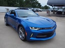 blue chevrolet camaro hyper blue 2017 chevrolet camaro 2dr cpe 2lt for sale