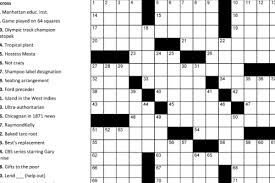 printable easy crossword puzzles with solutions printable crosswords puzzle baron
