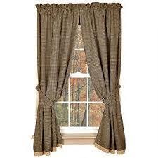 Prairie Curtains Check Curtains Ebay