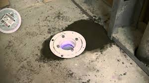 installing offset shower drain in concrete 2 youtube