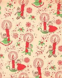 vintage christmas paper vintage 1952 christmas gift wrap wrapping paper christmas paper