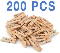 amazon com mini natural clothespins craft boutique wood 200