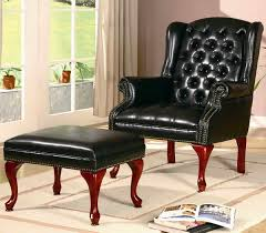 Ikea Leather Armchair Chairs 2017 Leather Chairs With Ottomans Catalog Leather Chairs
