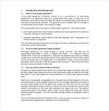 10 prenuptial agreement templates u2013 free sample example format