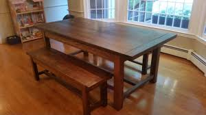 make a dining room table 100 build a dining room table ana white farmhouse table