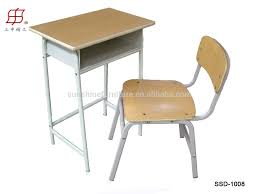 single kids study table chair desk and chair in