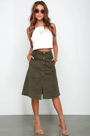corduroy skirts olive skirt a line skirt midi skirt corduroy skirt 48 00