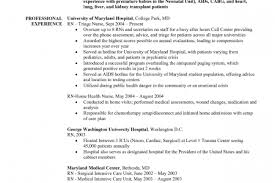 Sample Resume Of Registered Nurse by Telemetry Rn Resume Template
