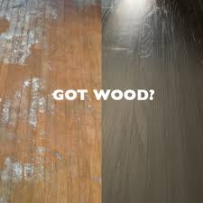 yes i bought a house that had wood floors that looked like that luckily