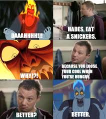 Eat A Snickers Meme - hades eat a snickers by jarvisrama99 on deviantart