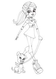monster high coloring pages baby abbey bominable monster high babies coloring pages monster high free stein with