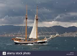 the spanish ship the far barcelona sailing ship at the tall ships