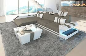 sofa large sectional sofas ottoman couch grey leather sectional