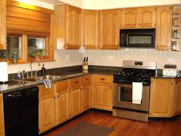 what color countertops with oak cabinets kitchen backsplash with honey oak cabinets granite countertops wheat