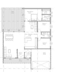 houseplans com modern main floor plan plan 537 66 house plans