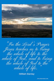 what is a key thing jesus teaches us in the lord u0027s prayer