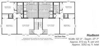 Multi Family Home Floor Plans Multi Family Modular Home Floor Plans Bsn Homes