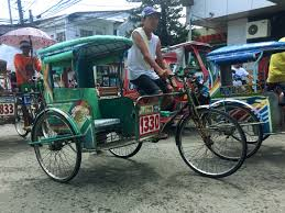 philippines pedicab land travel in the philippines amanda abroad