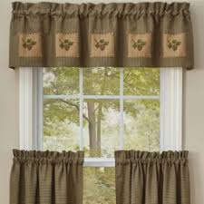 Valance And Curtains Rustic Cabin Curtains Valances Cabin Place