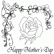 coloring pages mothers day flowers happy mothers day coloring pages coloring picutres cool