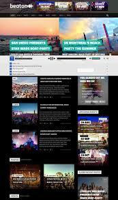 80 best music wordpress themes free u0026 premium freshdesignweb