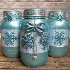 christmas mason jars winter home decor christmas home decor