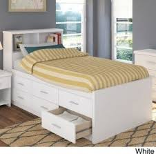 twin captains bed with bookcase headboard white twin captains bed with bookcase headboard home design ideas