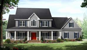 2 house plans with wrap around porch two country house plans with wrap around porch unique 2