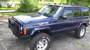 cherokee jeep 2000 2001 jeep cherokee sport start up walk around and review youtube