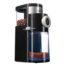 Delonghi Coffee Grinder Kg89 Krups Flat Burr Coffee Grinder Gx500050 The Home Depot