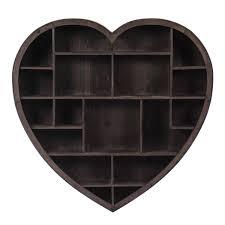 How To Make A Wooden Shelf Unit by Wooden Heart Shelf Unit