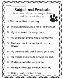 subject and predicate u2026 language pinterest subject and